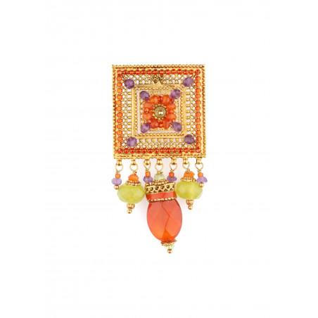 Satellite Persane Multicolor Clips earrings