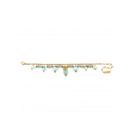 Bracelet Satellite Persane vert28571