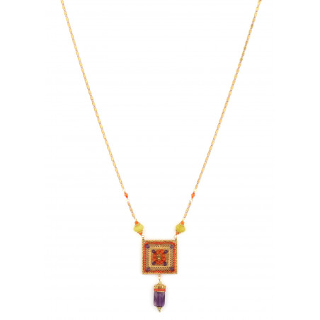 Satellite Persane Multicolor Necklace