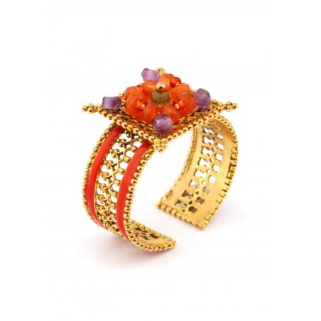 Satellite Persane Multicolor Ring