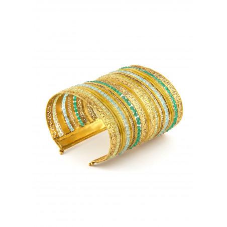 Satellite Persane Green Bracelet