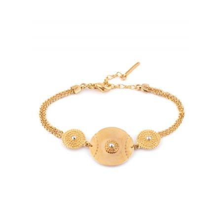 Satellite Iman gold colour bracelet
