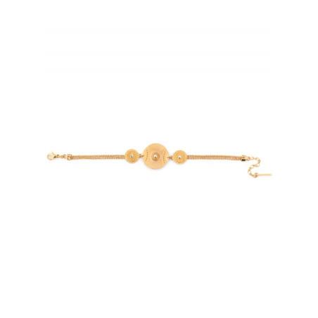 Satellite Iman gold colour bracelet46078