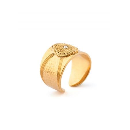 Satellite Iman gold colour ring