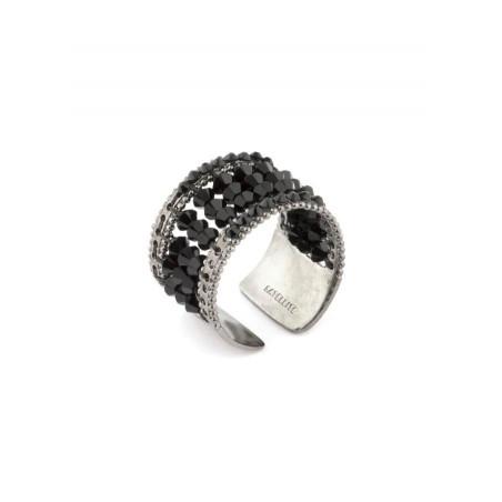 Ring Satellite Chiara black