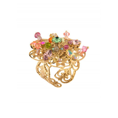 On-trend Japanese bead ring   Pastel