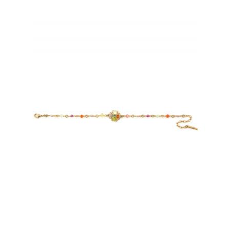 Bracelet chic métal doré et   Multicolore63080