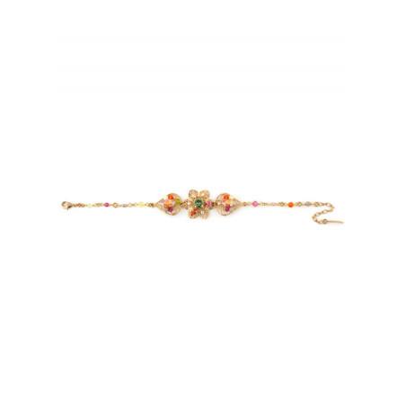 Bracelet tendance métal doré et | Multicolore63083
