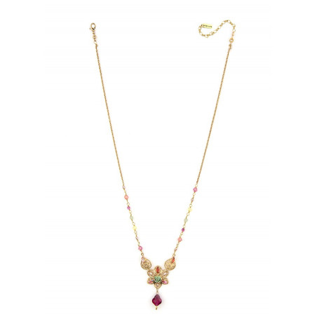On-trend gold metal necklace | Pastel63098