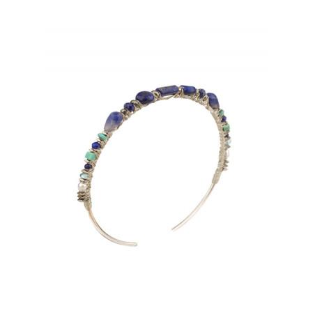 Feminine silver metal bracelet    Multicolor