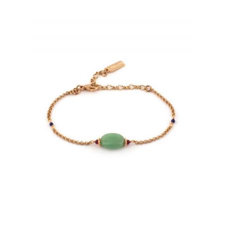 Bracelet tendance aventurine et lapis lazuli | Multicolore