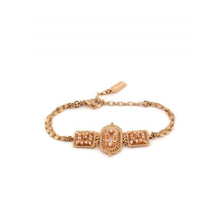 Bracelet chic perle de rivière et perle du Japon | Nacré