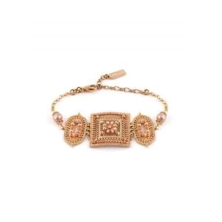 Bracelet élégant perle de rivière et perle du Japon | Nacré