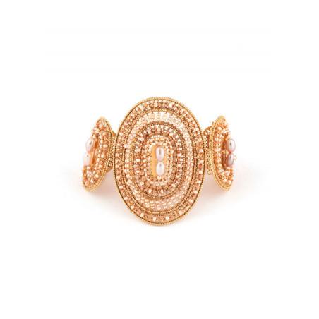 Bracelet féminin perle de rivière et perle du Japon   Nacré