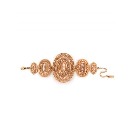 Bracelet féminin perle de rivière et perle du Japon   Nacré66490