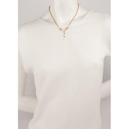 Collier romantique perle de rivière et perle du Japon | Nacré66841
