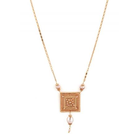 Collier luxueux perle de rivière et perle du Japon | Nacré