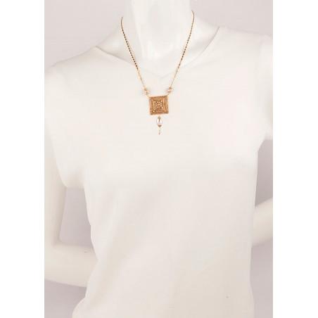 Collier luxueux perle de rivière et perle du Japon | Nacré66844