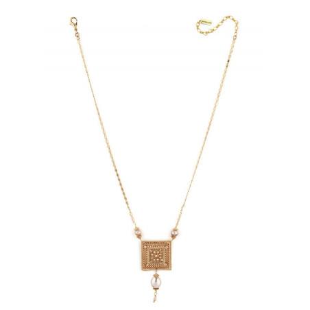 Collier luxueux perle de rivière et perle du Japon | Nacré66845