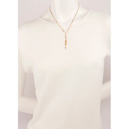 Original necklace with freshwater pearls and Japanese beads | Mother-of-pearl66861