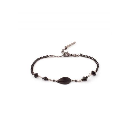 Bracelet élégant perles et perles du Japon | Noir