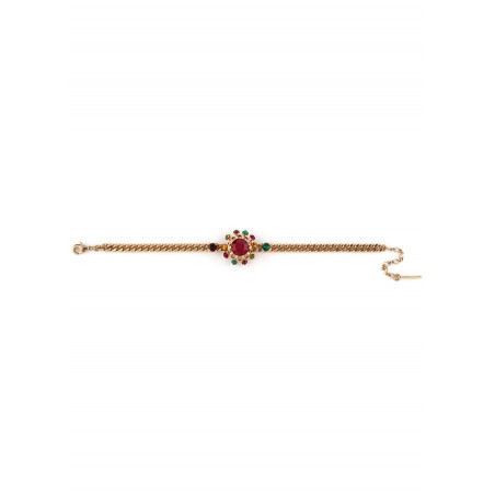 Bracelet souple solaire cristal rouge   Rouge71767
