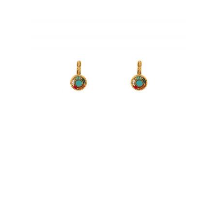 Summery sleeper earrings with Japanese beads | multicoloured