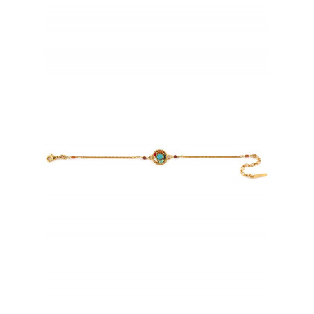 Bracelet souple pop jaspe perles du Japon   multicolore73290