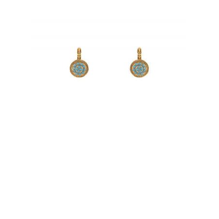 Boucles d'oreilles dormeuses raffinées turquoise | turquoise