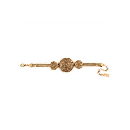 Bracelet souple élégant métal | doré75848