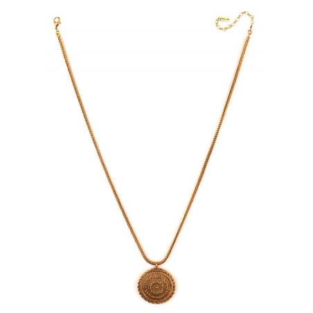 Collier pendentif féminin métal | doré75889