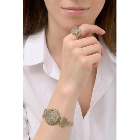 Bracelet souple élégant métal | doré76188
