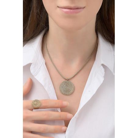 Collier pendentif féminin métal | doré76200