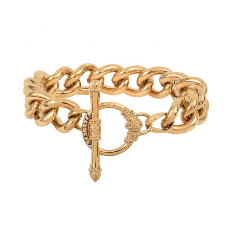 Bracelet chaîne délicat métal I doré