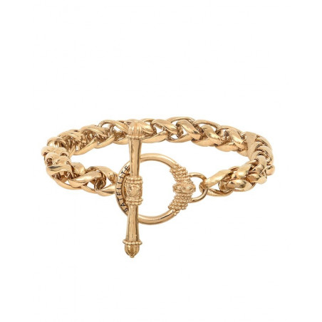Chic metal chain bracelet I gold-plated