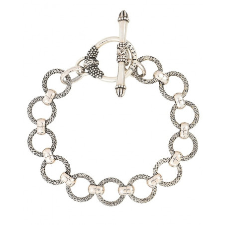 Timeless metal chain bracelet | silver-plated76233