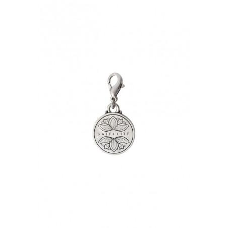 Médaille gravée small intemporelle métal I argenté