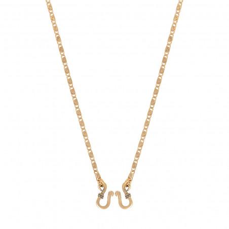 Collier chaîne intemporel 41 cm I doré
