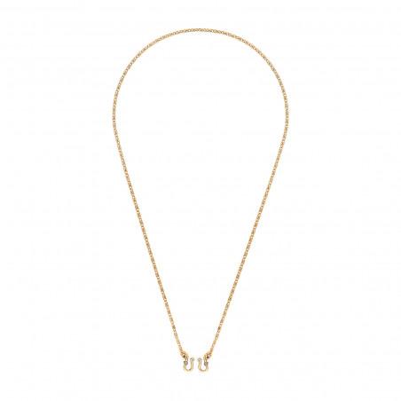 Collier chaîne intemporel 41 cm I doré85170