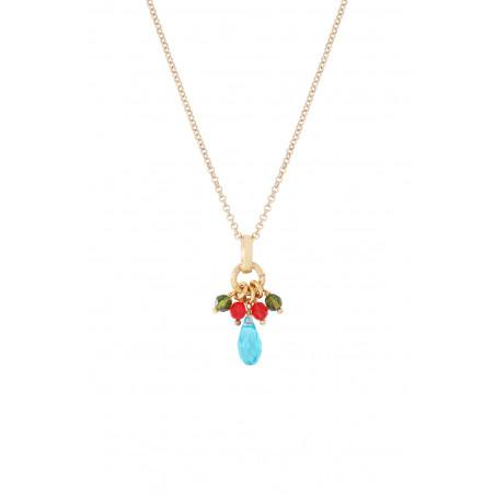 Pendentif festif perles cristal I multicolore85352