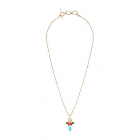 Pendentif festif perles cristal I multicolore85353